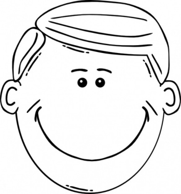 More Face Clipart