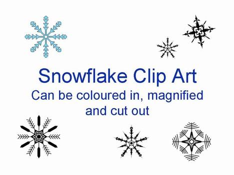 More free snowflake clip art