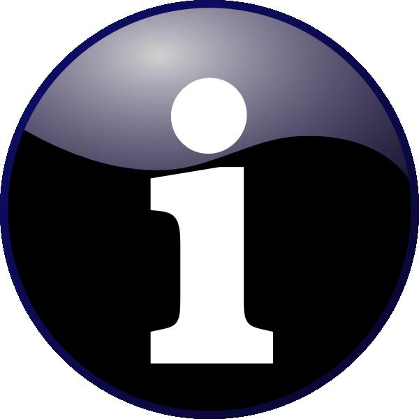 Information Icon Clip Art at Clker clipartlook.com - vector clip art online, royalty  free u0026 public domain