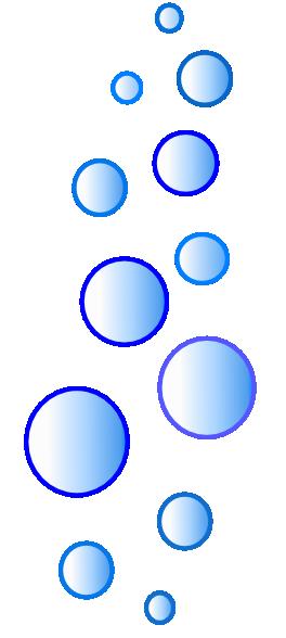 More N More Blue Bubbles Clip Art At Clker Com Vector Clip Art