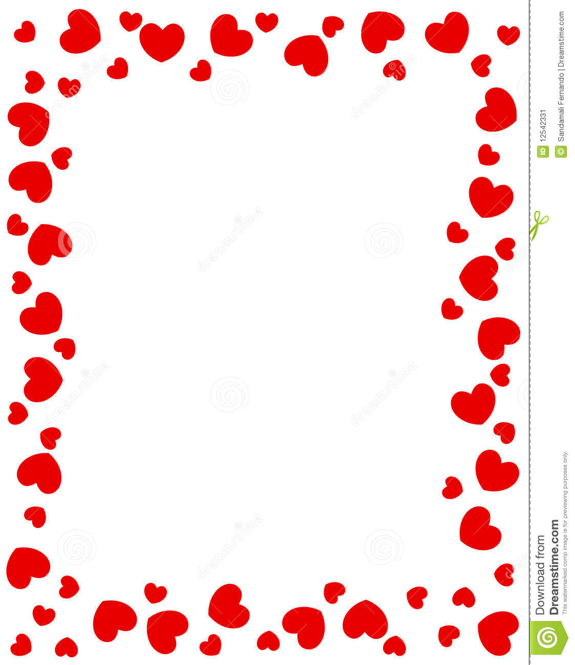 More Similar Stock Images Of  - Heart Border Clipart