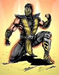 Mortal kombat scorpion clip art-Mortal kombat scorpion clip art-4