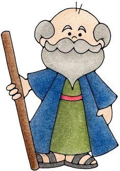 Moses Clip Art