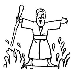 Moses Ten Commandments Clipar