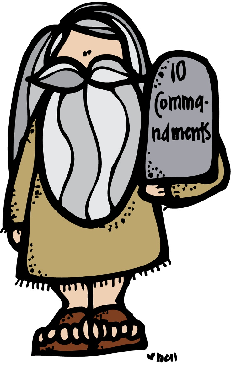 Moses Clipart - Religious Cli - Moses Clip Art