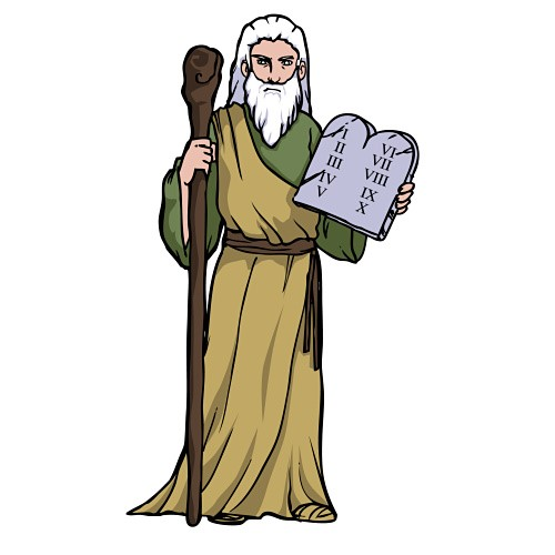 Moses Ten Commandments Clipart Images Pictures Becuo