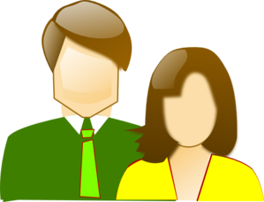 mother and father clipart