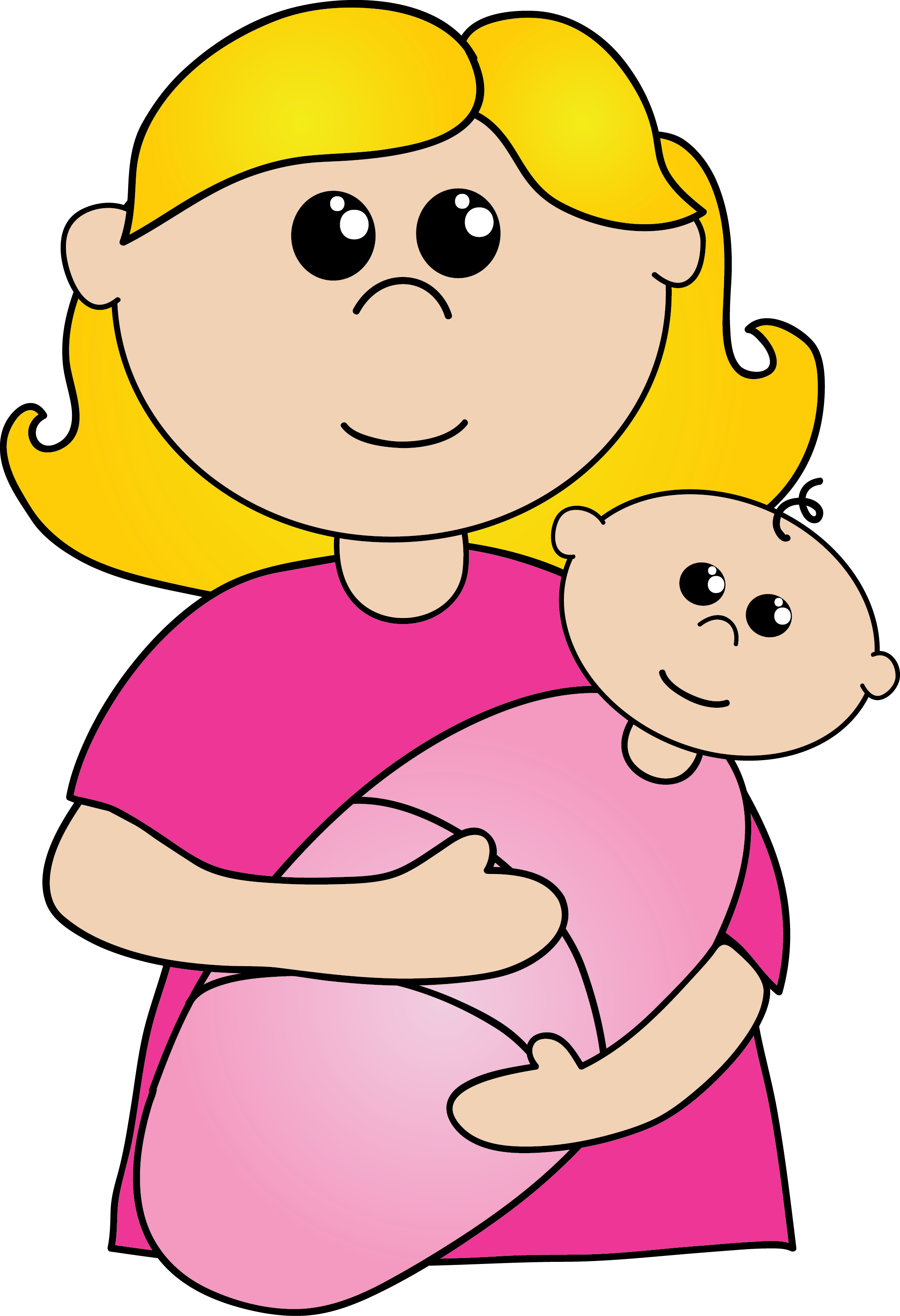 mother clipart-mother clipart-10