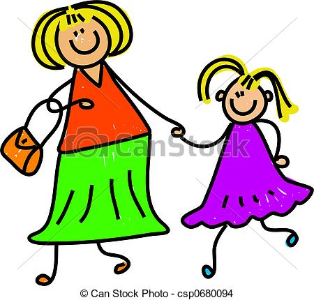 Mother And Daughter - Happy Mother And D-mother and daughter - happy mother and daughter holding... ...-8