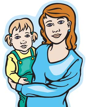 mother clipart-mother clipart-13