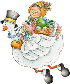 mother goose clip art Gallery