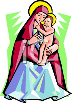 Mother Of Jesus Clipart-Clipartlook.com-244