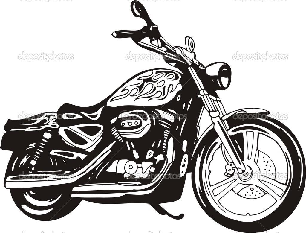 Motorcycle Clip Art Harley .-motorcycle clip art harley .-15