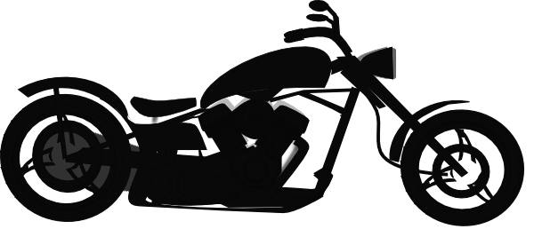 Motorcycle Clipart Black And White Clipart Panda Free Clipart