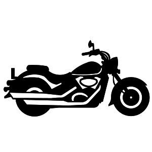 motorcycle clipart harley | . ClipartLook.com of Motorbikes | Choppers | Harley Davidson  | Bikes