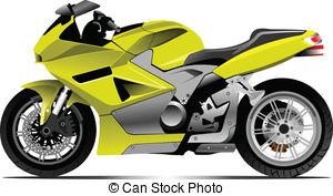 . ClipartLook.com Sketch of motorcycle. Vector illustration