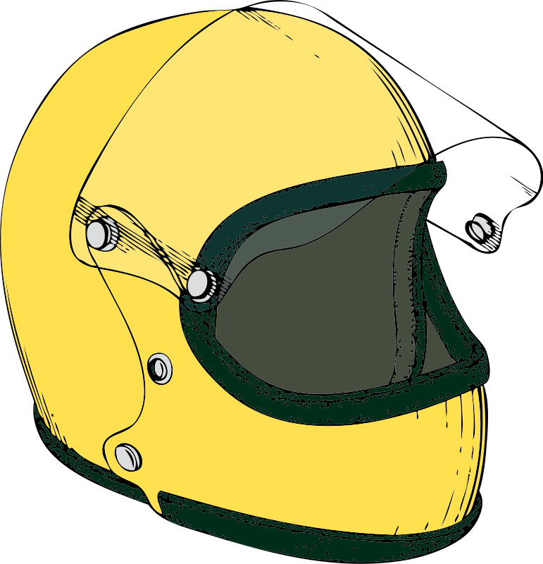 Motorcycle Helmet Clipart