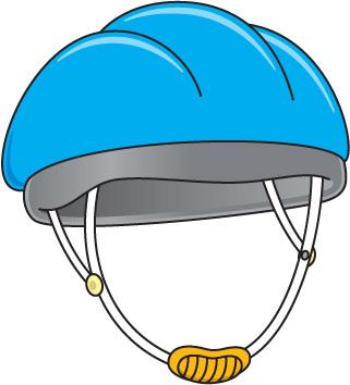 321x354 Bike Helmet Clipart