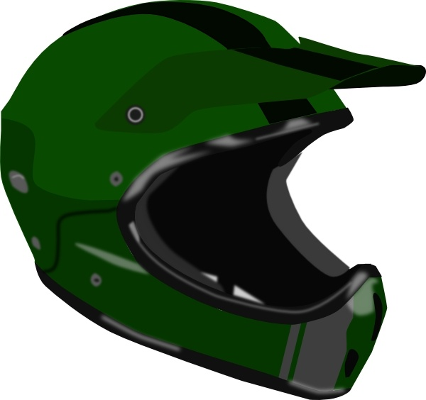 Bike Or Motorcycle Helmet clip art