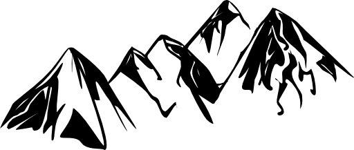 mountain range clipart