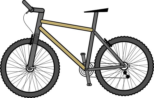 Mountain Bike Clipart