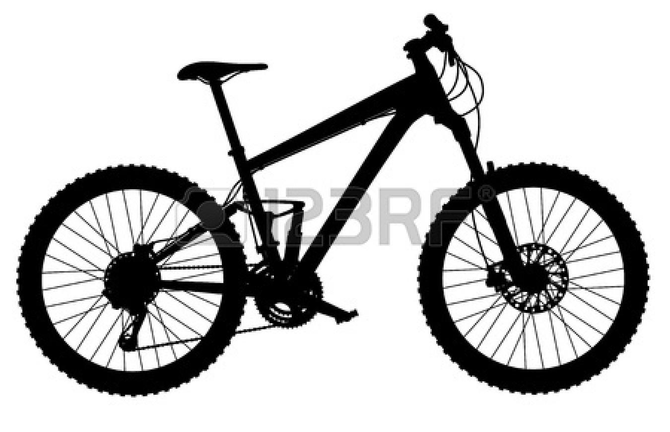 Mountain Bike Clipart Mountain Silhouette Clipart