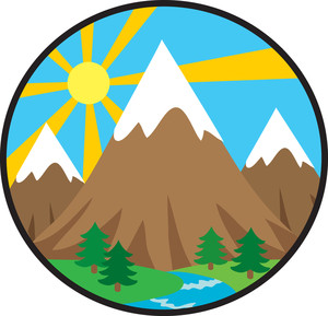 Mountain Clip Art-Mountain Clip Art-4
