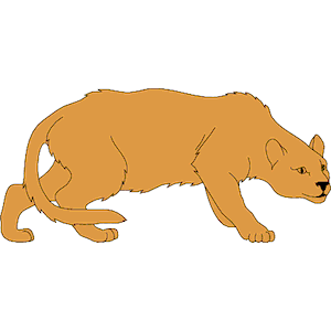 Mountain Lion Clipart Cliparts Of Mountain Lion Free Download Wmf