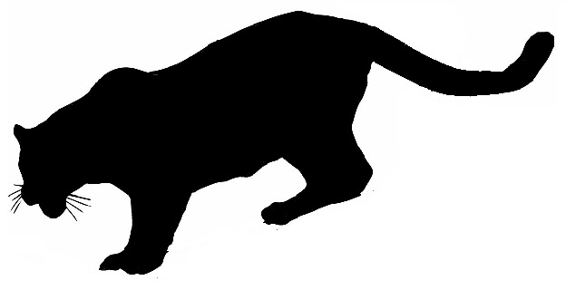 Mountain Lion Silhouette Clipart ...