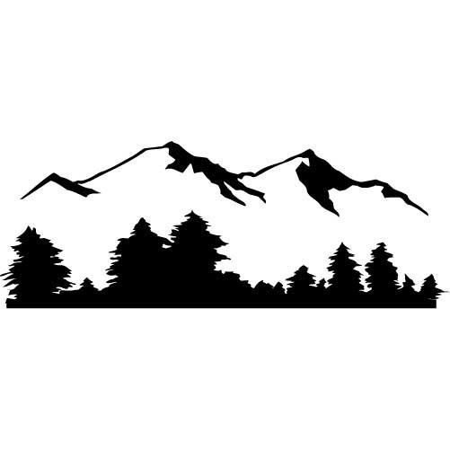 ... Mountain Silhouette Clip Art - Clipa-... Mountain Silhouette Clip Art - clipartall ...-14