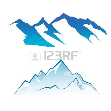 Mountain Silhouette: Mountain Set Illust-mountain silhouette: Mountain Set Illustration-15
