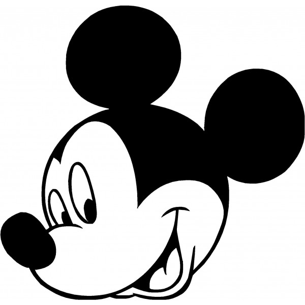 Mouse Clip Art Black And Whit - Mickey Mouse Clipart Black And White