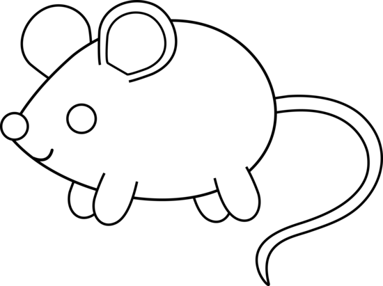 Mouse Clipart Black And White Clipart Panda Free Clipart Images