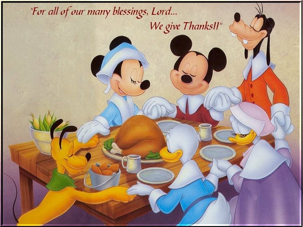 Mouse Thanksgiving Clipart. The True Disney Fan Happy .