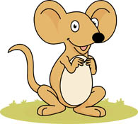 mouse with big ears. Size: 71 Kb