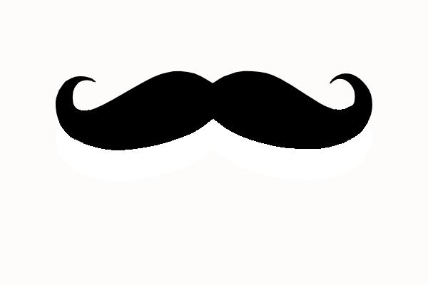 moustache clipart