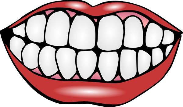 Mouth And Tongue Clipart Black And White-Mouth And Tongue Clipart Black And White Clipart Panda Free-3
