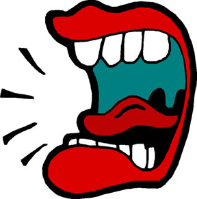 Big mouth clipart