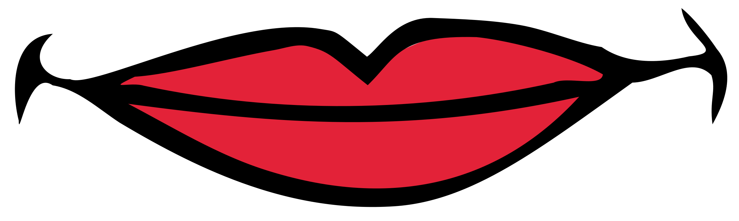 mouth smile clip art