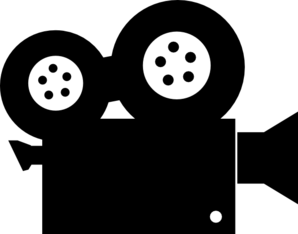movie camera clipart