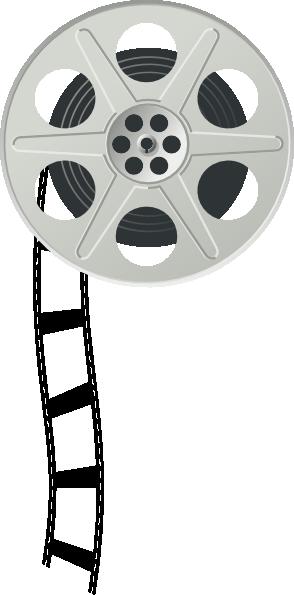 Movie Film Reel Clipart - Cli