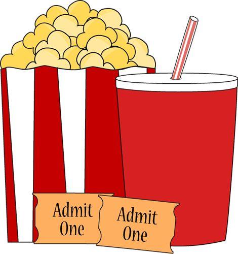Movie Theater Popcorn Clipart-movie theater popcorn clipart-8