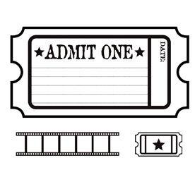 Movie Ticket Clipart-movie ticket clipart-8