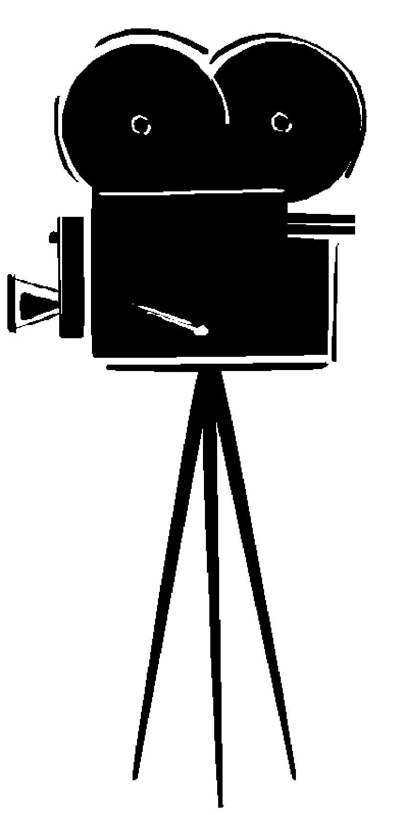 Movie camera clip art 4
