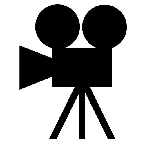 Movie Camera Clip Art-Movie camera clip art-9