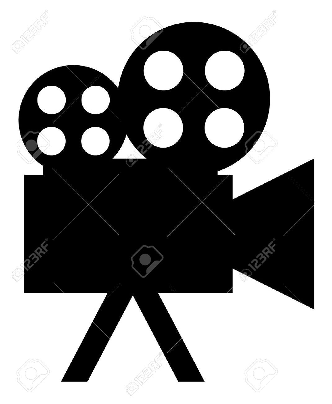 movie camera: icon (button).