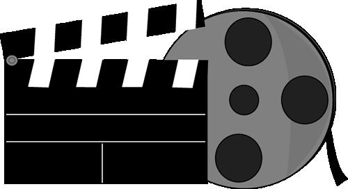 Movie Clapperboard And Movie Reel-Movie Clapperboard and Movie Reel-11