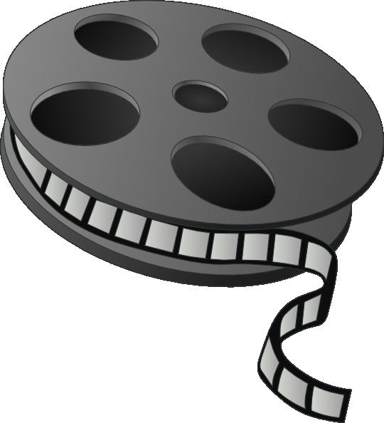 Movie Clip Art At Clker Com V - Movie Reel Clipart