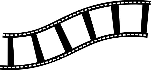 Movie Film Strip Clip Art | Scrapbook: ClipArt | Pinterest | Movies, Movie film and Film