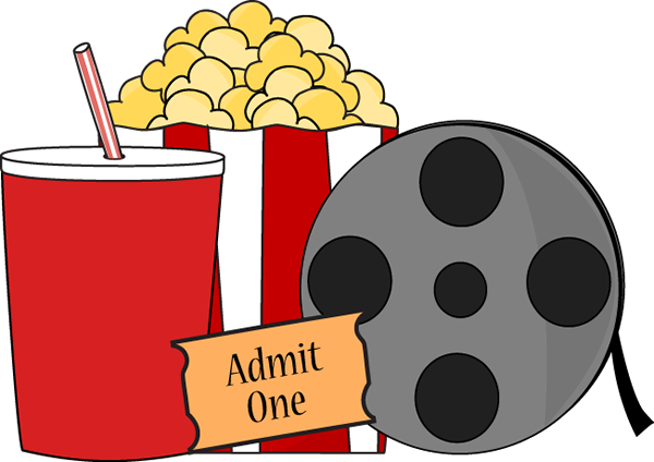 Movie Night Clip Art Image Movie Night Is Complete With Movie